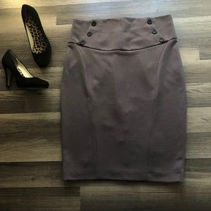 Zara Basic size XL Pencil Skirt
